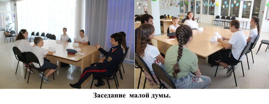 Заседание малой думы Эдельвейс Коллаж-3