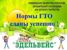 Афишка ГТО
