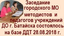 Афишка Городское МО 2018
