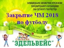 Афишка закрытие ЧМ 2018