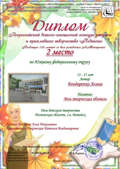 Бондаренко конкурс Педагоги_1