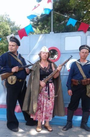 ПАситова в Крыму